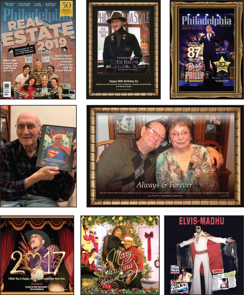 ForeverKards.com text and image samples. You provide the text, image and theme.